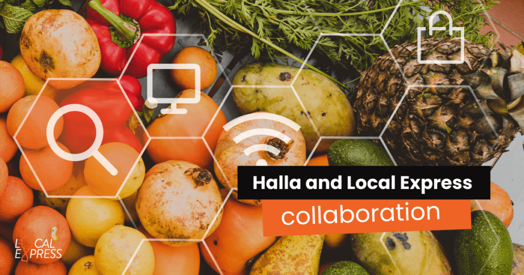 Halla and Local Express Collaboration, the best eCommerce