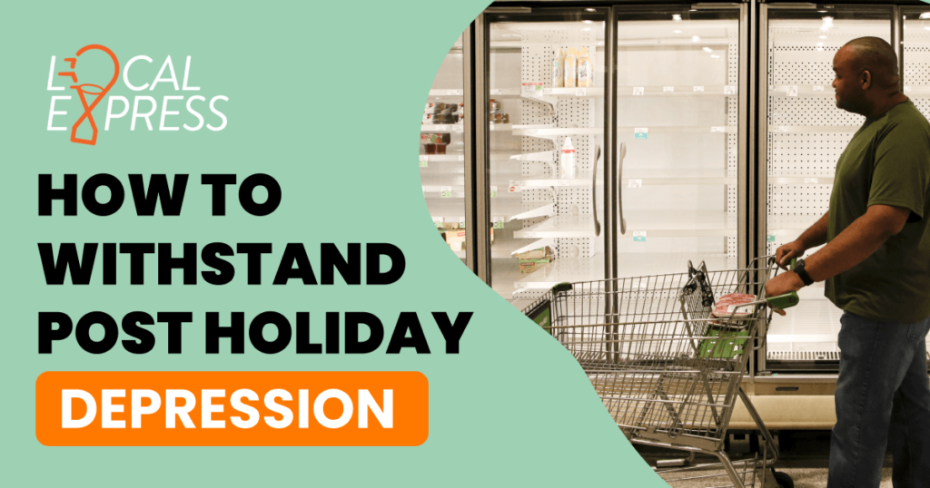 flash sales, withstand the post-holiday depression