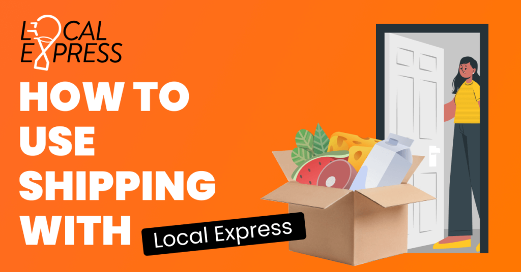 shipping, grocery store, usp, dhl